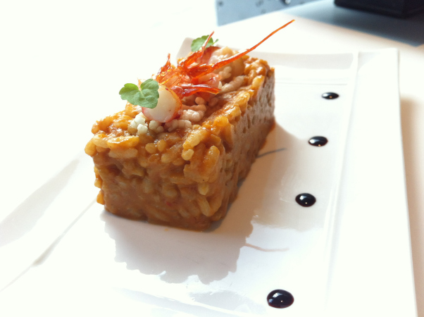 Kike_on_tour_bokado_risotto_carabineros