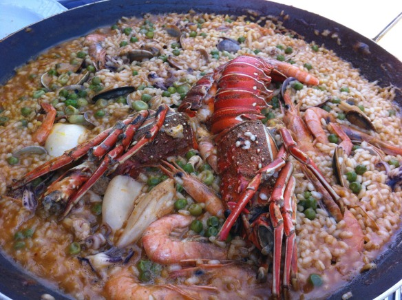Kike_on_tour_carmen_jatetxea_arroz_bogavante